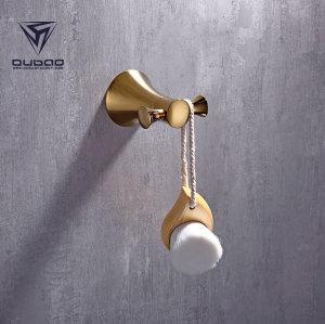 OUBAO Gold Copper Bath Accessories for Decor Sparkle
