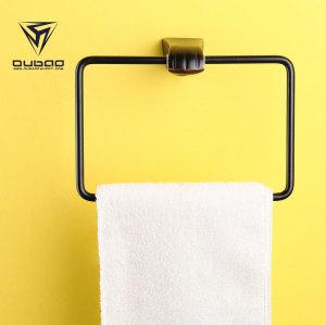 OUBAO Oil Rubbed Bronze Bathroom Accessories Modern Luxury Toilet Bath Accessories