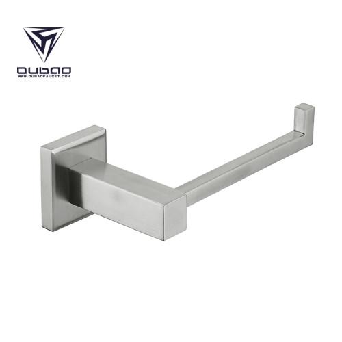 OUBAO Square Bathroom Accessories Brushed Nickel Unique Design
