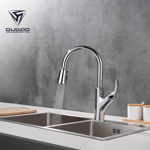OUBAO 3 Way kitchen faucet with filtered water dispenser