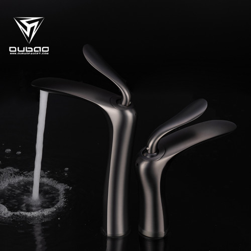 OUBAO Bathroom Basin Taps on Sale Gunmetal Black