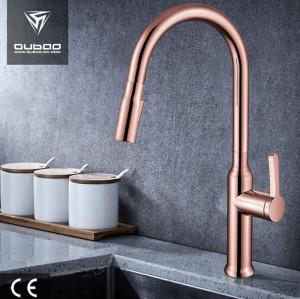 OUBAO Kitchen Sink Faucet Sprayer Matte Black