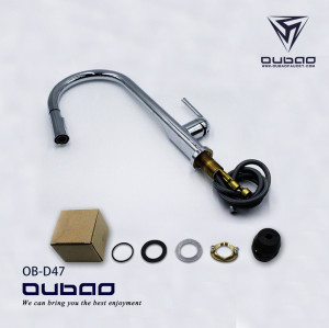 OUBAO cUPC kitchen Sink Mixer faucet Factory Direct Sale single handle