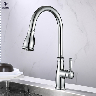 Pull Down Kitchen Faucet Single Handle North American Design