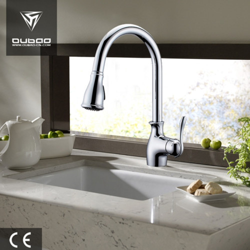 Brushed Nickel Kitchen Faucets With Sprayer