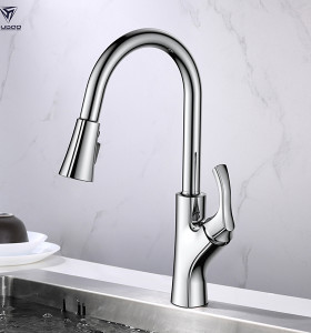 polished chrome kitchen faucet for best faucet 2019