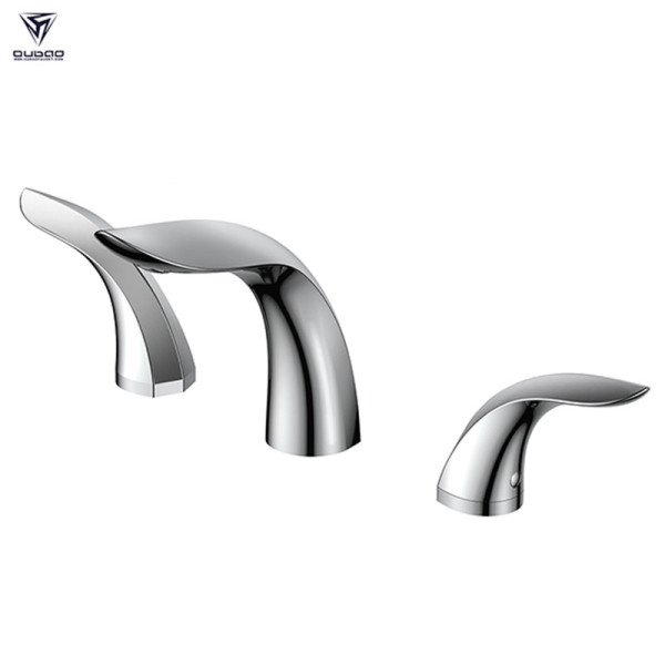 OUBAO Modern Design 8' Widespread Bathroom Faucet For Face Basin