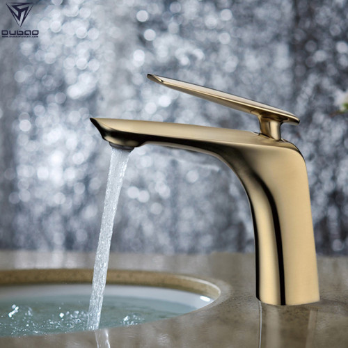 OUBAO Bathroom Faucets Gold Color Plated for Wholesale