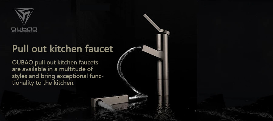 OUBAO pull out kitchen faucets are available in a multitude of styles and bring exceptional functionality to the kitchen.