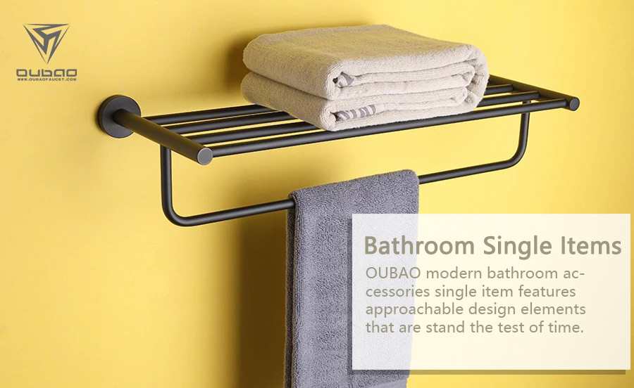 OUBAO modern bathroom accessories single item features approachable design elements that are stand the test of time.