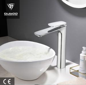OUBAO Tall Bathroom Faucet Washbasin Tap Modern