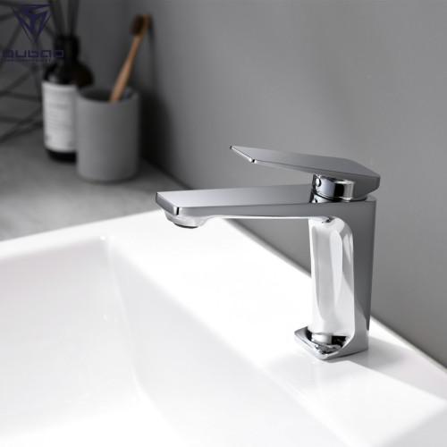 OUBAO Basin Faucet Single Handle Lever Modern Brass Faucet New Design