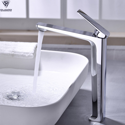OUBAO single handle bathroom faucet single tap modern brass high quality