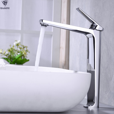 OUBAO single handle bathroom faucet single tap modern brass high quality