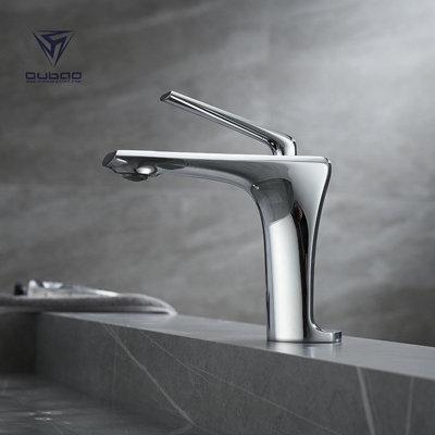 OUBAO single basin faucet,fashion design wash basin faucet for bathroom