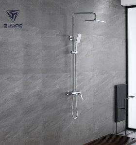 OUBAO bathroom shower faucet set single handle shower faucet