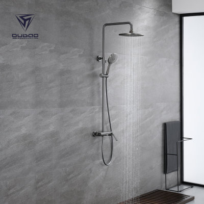 Best shower faucets types one handle rain shower faucet