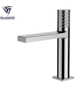 OUBAO one hole handle bathroom faucet single basin faucet