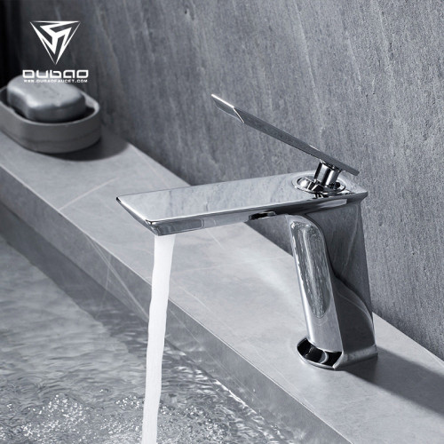 OUBAO China Faucets Brand Bathroom Basin Vessel Sink Mixers Taps Faucets Chrome Brass