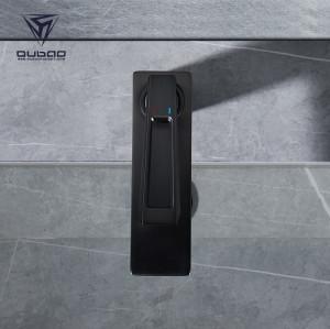 OUBAO Luxury Design Bathroom Wash Baisn Mixer Faucet Taps Gunmetal Grey