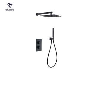 Shower Mixer Faucet Set OB-9027   Matte Black