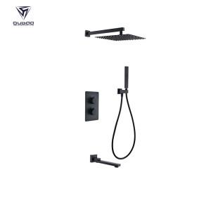 Shower Mixer Faucet Set OB-9027-005 | Matte Black