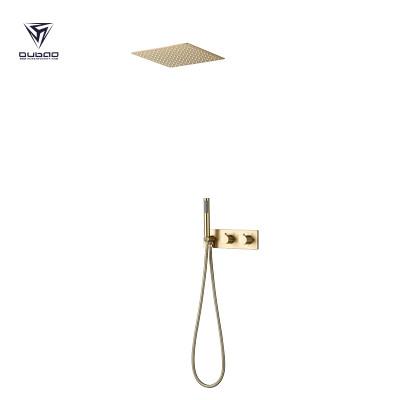 Shower Mixer Faucet Set OB-9072 | Brushed Gold