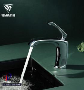 OUBAO Basin Faucets Brass Chrome Bathroom Basin Sink Short Faucets Mixer Tap