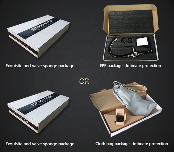 OUBAO offers two choice of inner packing for you: ①cloth bag+color box ②EPE+color box