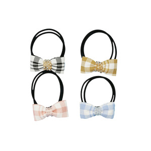 Fabric mini bow hair Band