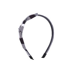 Plastic whith fabric headband
