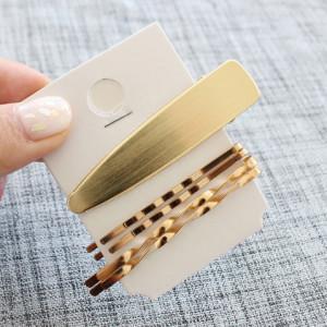 Gold Hair Bobby Pins