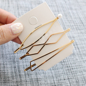Gold Hair Bobby pins