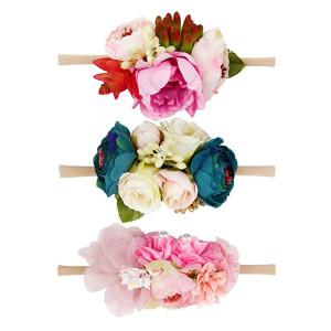 Baby Girls Flower Headwrap