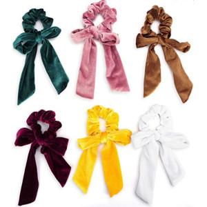 Elastic hair band scrunchies