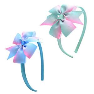 headband with ribbon bow