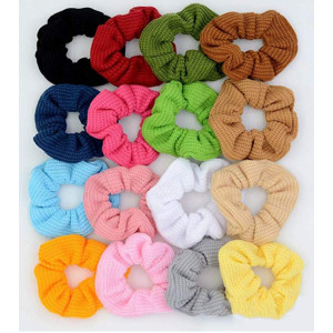 Elastic hair band scrunchies