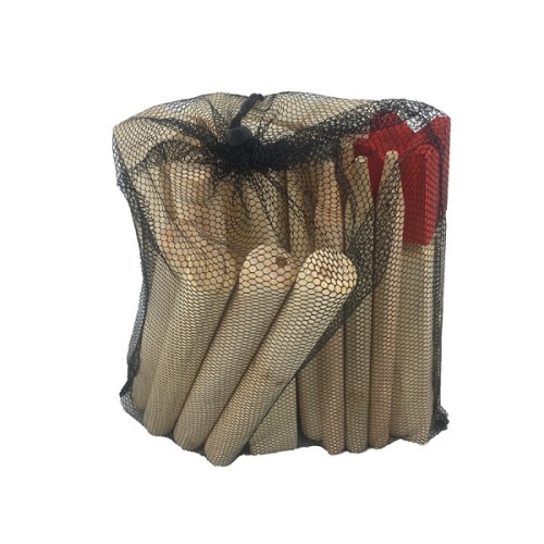 Wooden Customized size and colored kubb game set