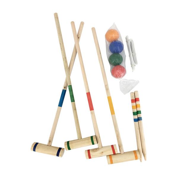Wholesale Croquet set garden games with wooden mallets