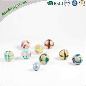 4/6/8 Pack Wooden Petanque Boules Set / Bocce Ball Games Set FOB Reference Price:Get Latest Price
