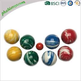 Outdoor 8 Pack Quality Colorful Resin Petanque Boules / Bocce Ball Games Set