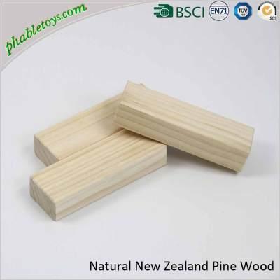 Giant Natural Pine Wooden Jenga Games / Wooden Blocks Stacking Games Set