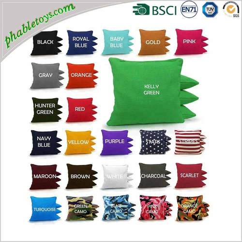 Classic Duck Cloth Cornhole  Bean Bags For Toss Game