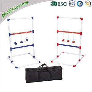 Classic PVC Ladder Golf Ball Toss Game Set For Outdoor Garden Yard Lawn Games
