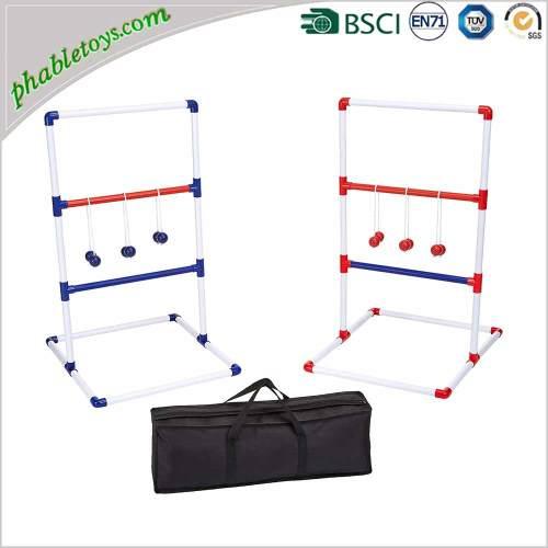 Classic PVC Ladder Golf Ball Toss Game Set For Outdoor Garden Yard Lawn Games