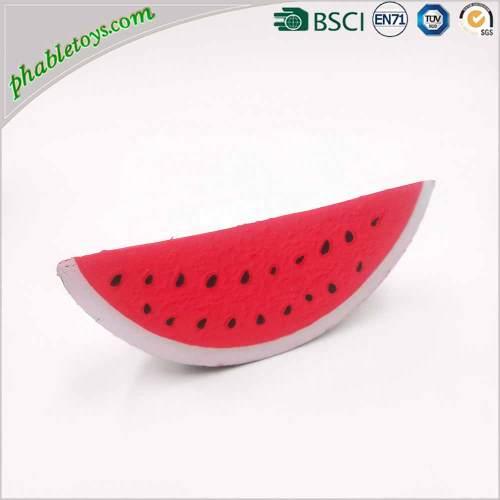 Wholesale Eco-Friendly Scented Soft Fruits Squishy Toys Jumbo Kawaii