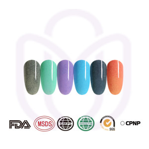 FUR GEL POLISH for nail professional and amateur home use