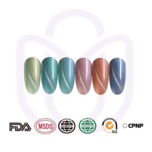 SHELL CAT EYE luxury gel polish for creative nail art