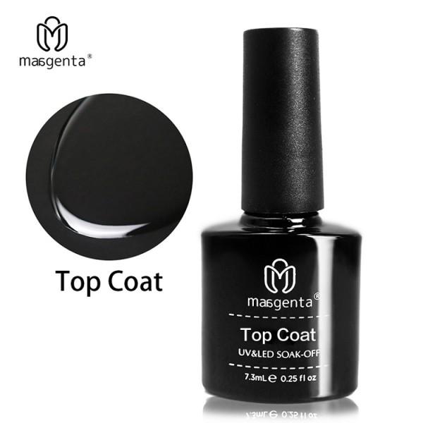 TOP COAT long-lasting nail polish high viscosity