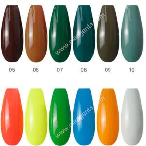 TEMPERATURE-CHANGING GEL creative nail colours gel polish